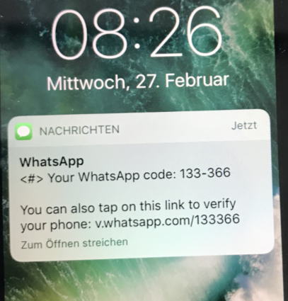 Hijacking WhatsApp without Hacking